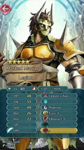 【FEH】ローローは攻撃&速さが優秀なので勇者の斧を持たせると強い!!  更に死線や月虹を持たせれば凄まじいワンパン性能を誇るぞ!!