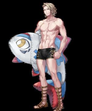 【FEH】ユニット評価 泳ぎの鍛錬中 マークス(水着マークス)