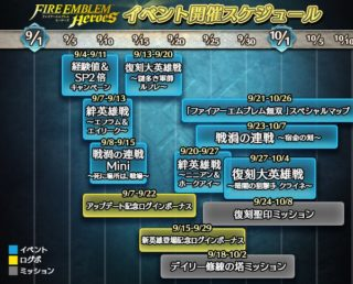 【FEH】9月のイベントスケジュールが発表されたぞ!! 目玉イベントはヘクトル、漆黒の騎士戦禍の連戦か!? 絆英雄戦ニニアン&ホークアイという謎組み合わせも