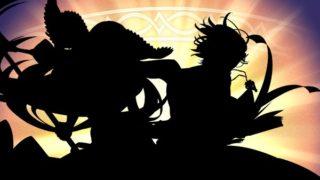 【FEH】9/29に実装される超英雄キャラ二人のシルエットが公開された……けど黒塗りでイマイチ誰だか分からない。いつも通り覚醒ifキャラだろうか??