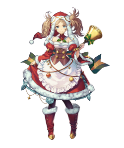 【FEH】ユニット評価 きらーんとしてる リズ(クリスマスリズ)