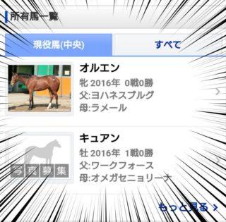 【FEH】キュアンやオルエンといった名前の競走馬が存在しているんだが……馬主はエムブレマーなのか!?