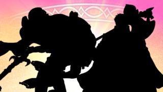 【FEH】2/8実装超英雄のシルエットクイズが発表されたぞ!! 左側のキャラが持っている剣がファルシオンやティルフィングに見えるが……!?