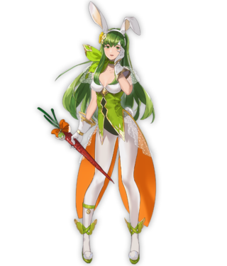 【FEH】ユニット評価 兎姉妹の長姉 パオラ(バニーパオラ)