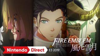 【FE風花雪月】E3にて公開された新PVにより作中内で5年の時間が経過することが確定!! これはシリアスなストーリーに期待できそうだ