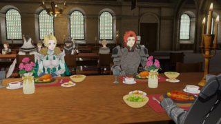 【FE風花雪月】ベレトス先生は食堂からお叱りをうけないのか!? あんなに食べてたら民が飢えて苦しむぞ!!