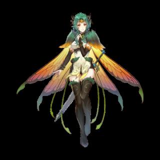 【FEH】3/10より神装英雄エリンシアが登場!! スヴァルトアルフの妖精衣装を纏っているぞ