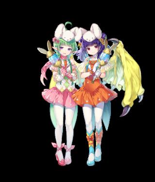 【FEH】ユニット評価 春風が結ぶ絆 ミルラ(双界ミルラ&ンン)